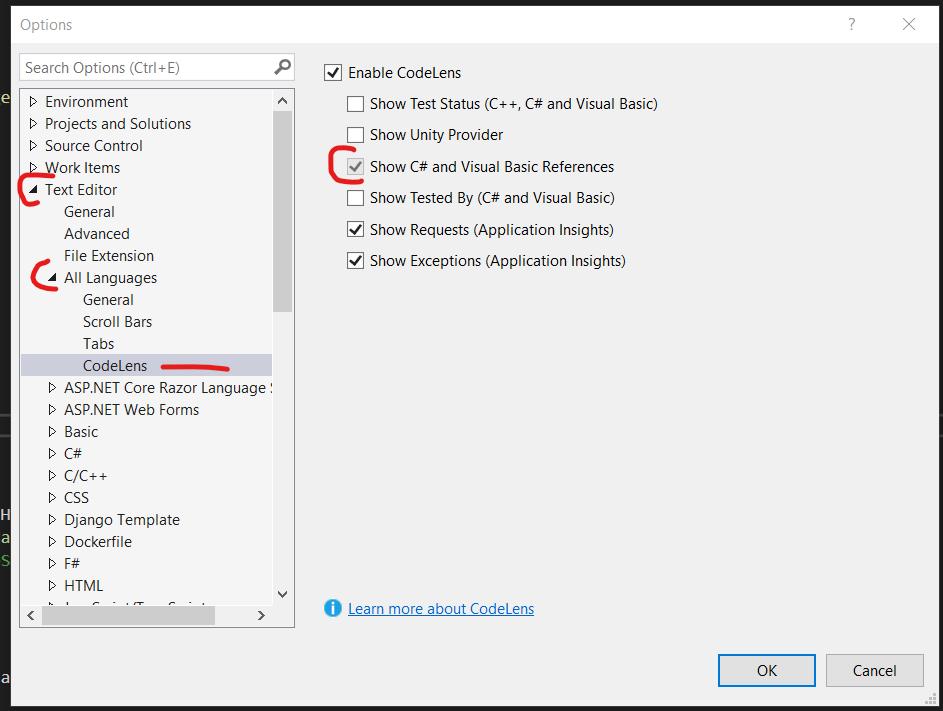 Visual Studio Code Lens