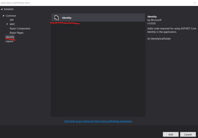 How to generate Identity Login UI Final Step